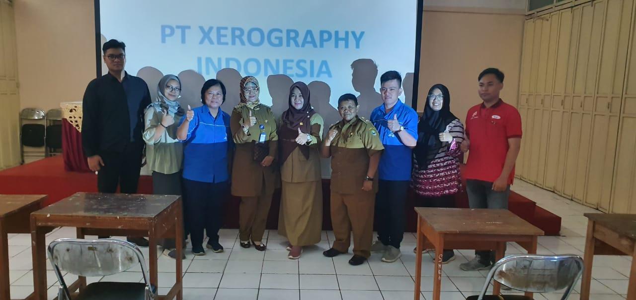 PT. Xerography Indonesia Bekerja Sama Dengan BKK SMKN 1 Bogor Melaksanakan Kegiatan Tes Rekruitment Siswa Siswi Kelas XII SMKN 1 BOGOR