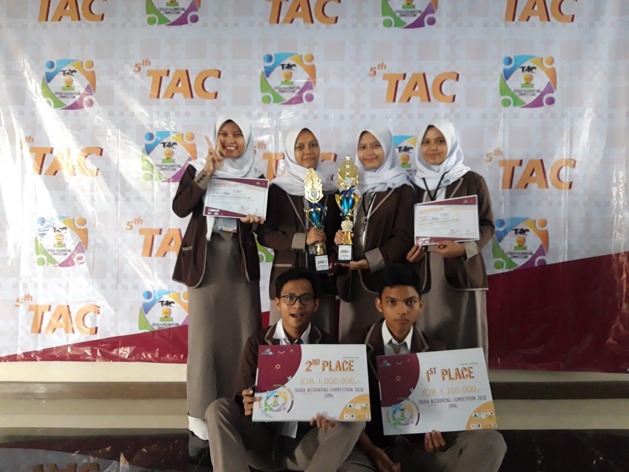 Juara 1 & 2 Lomba Akuntansi di STIE TAZKIA ( Tazkia Accounting Competition )