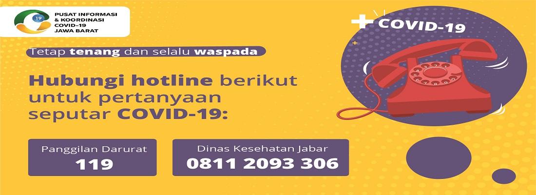 Pusat Informasi & Komunikasi Covid - 19 Provinsi Jawa Barat